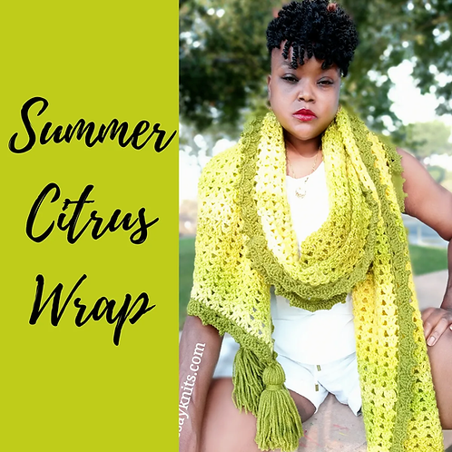 Summer Citrus Wrap Pattern
