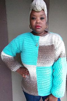 Cross Color Sweater
