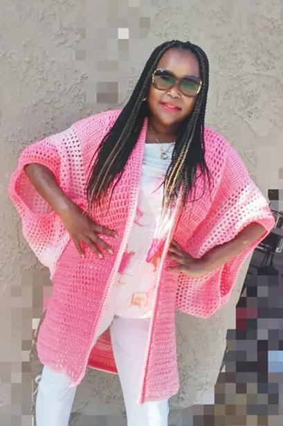 On The Run Kimono Pattern