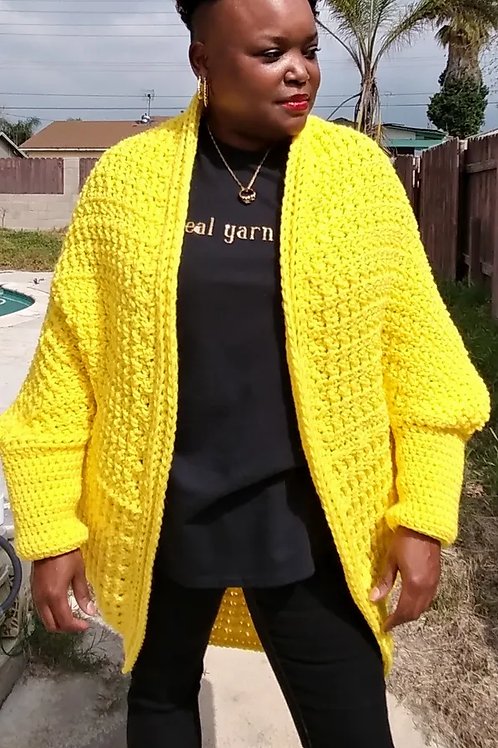 March Madness Shrug Pattern