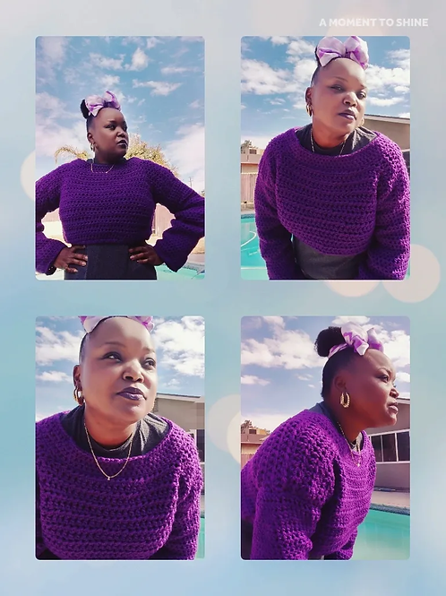The Grapevine Cropped Sweater Pattern