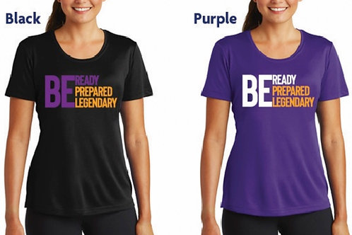 Ladies Be Ready Dry-Fit (Lakers Themed Short Sleeve)