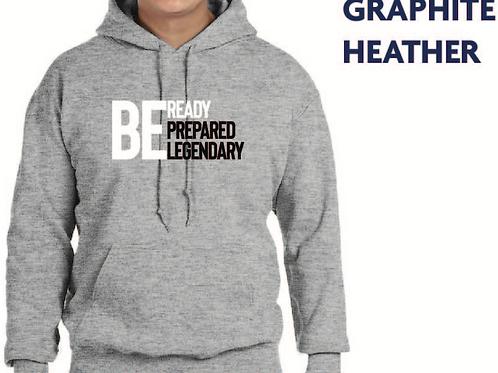 Be Ready (Grey Hoodie)