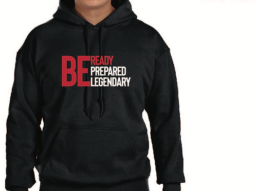Be Ready (Black Hoodie)
