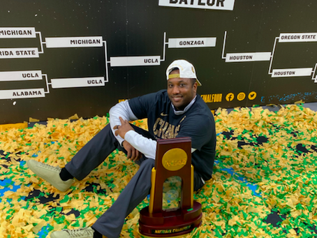 After capturing national title, Baylor assistant Alvin Brooks III remembers playing days at Idaho St