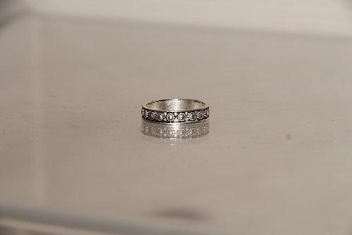 Costume Silver Tone Ring