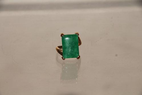 Jade & Gold Ring
