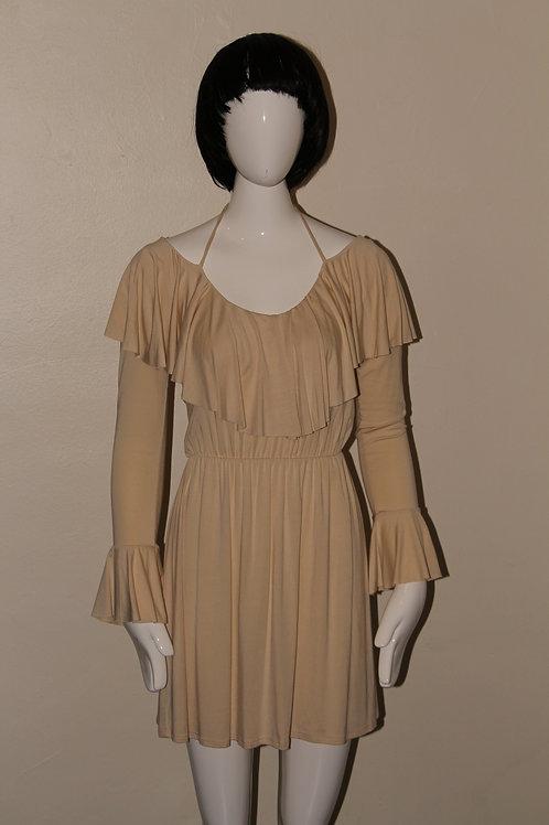 Women's beige summer dress