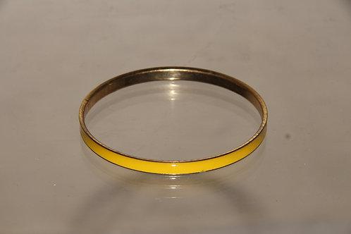 Yellow Bangle Bracelet