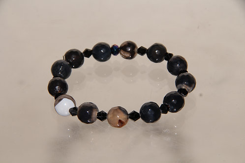 Custom Deep Space Bead Bracelet
