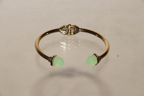 Gold & Jade Stone Bracelet