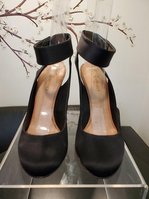 Giuseppe Zanotti vionnet black and white heels