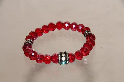 Custom Ruby Bracelet