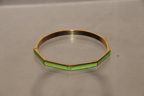 Lime Bangle Bracelet
