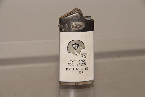 Vintage Raiders Superbowl XV Lighter