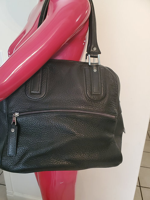 Authentic leather Longchamp purse