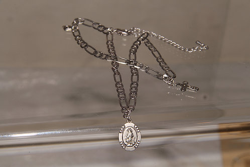 Silver Plate Chain Necklace
