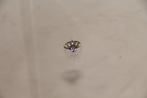 Costume Amethyst Ring