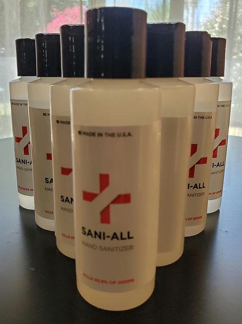 Sani-All  gel  hand sanitizer