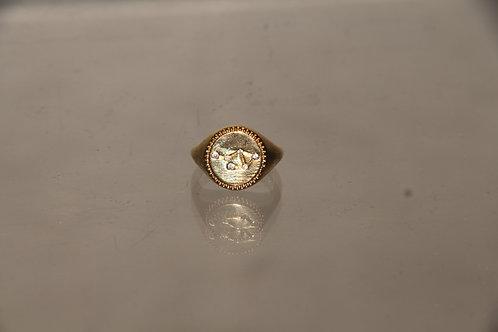 Gold Constellation Ring