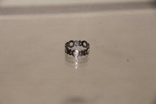Interlaced Steel Ring