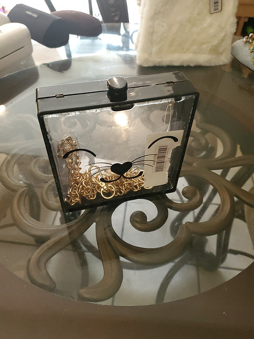 Fun square clear purse