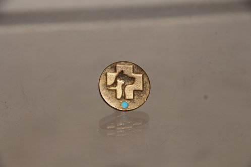 Gold Plated survival pin