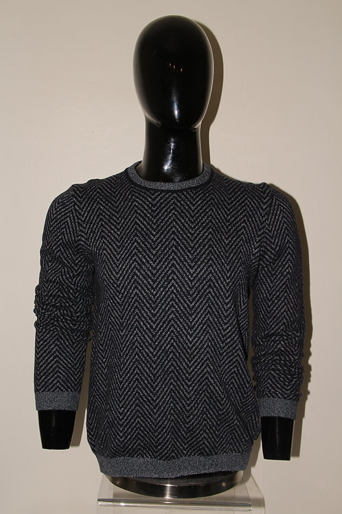 Men's herring bone sweater