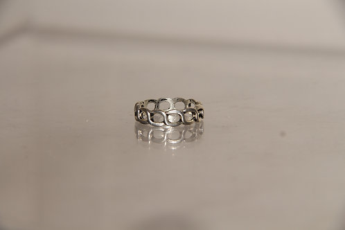 Costume Silver Tone Ring
