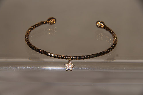 Star Open Back Bracelet