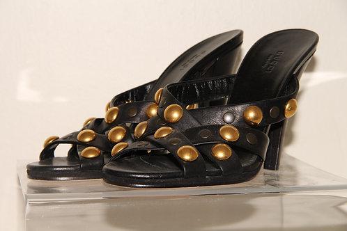 Gucci Mule slide on  Heels