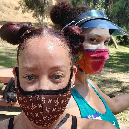 Designer face mask 100% cotton