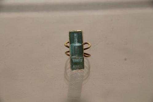 Jade Shield Ring