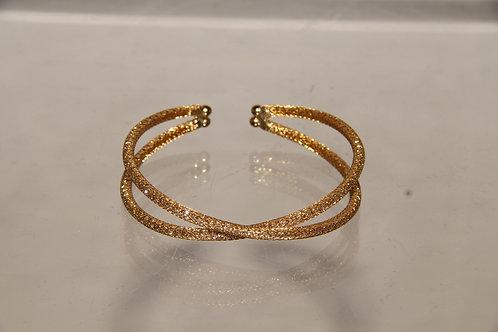 Gold Shimmer Double Bracelet