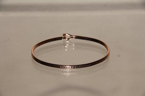 """Rose Gold """"Angel Blessing"""" Bracelet"""
