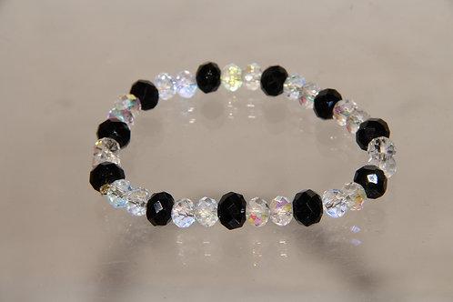 Custom Crystal Bead Bracelet