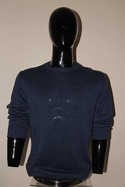 Men's Sheer teal sweater