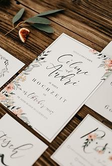 boho Hochzeit vintage floral Wasserfarben zarte Einladung Bohohochzeit