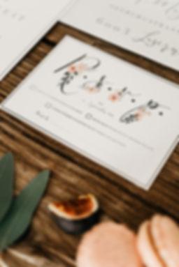 Anmeldekarte Antwortkarte rsvp r.s.v.p. Basel Schweiz einzelanfertigung custom made einladungen