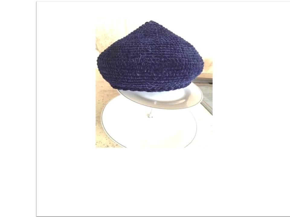 ⑵ ベレー帽