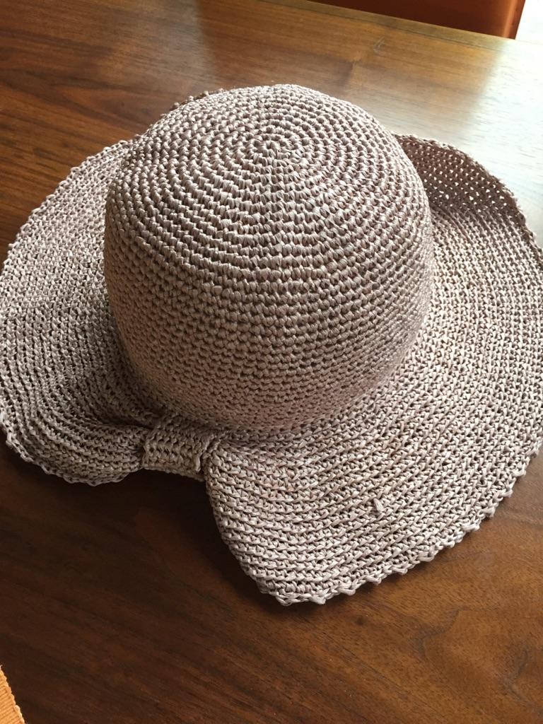 (4) エコアンダリアの帽子