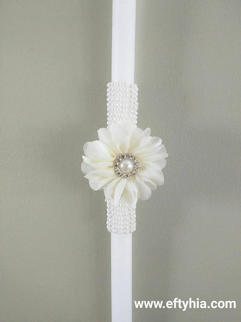 Ivory Pearl Flower