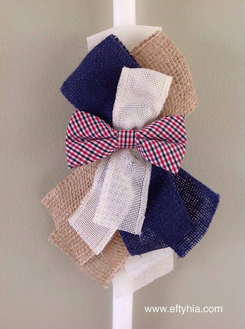 Bow Tie Burlap