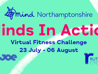 Get ready for action – join the Northamptonshire Mind challenge