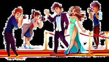 cartoon-couple-famous-celebrities-red-ca