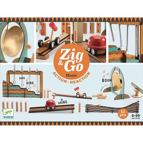Zig & Go - Music - 52 pcs von Djeco