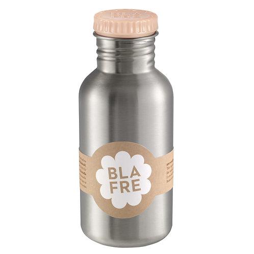 BLAFRE Edelstahl-Trinkflasche 0,5l in pfirsich