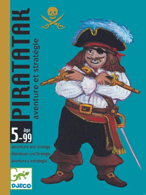 Piratatak Kartenspiel von DJECO