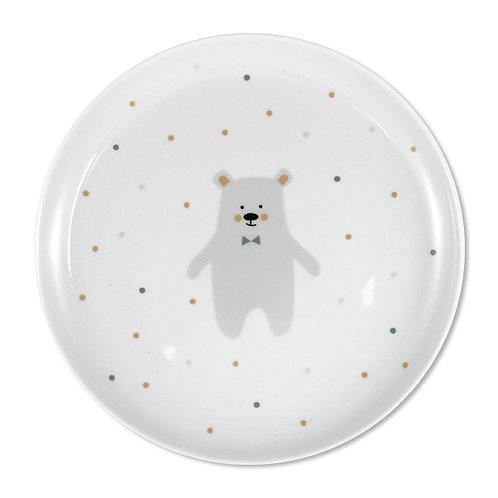 Porzellanteller Eisbär Ø 20cm