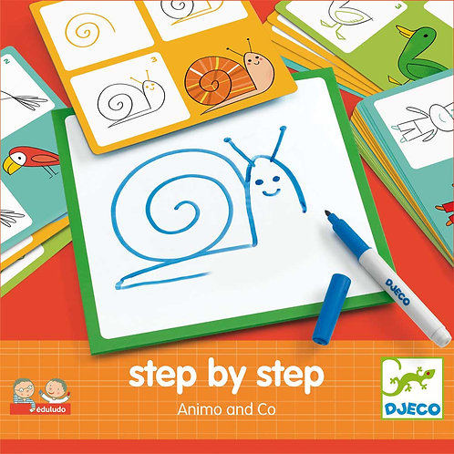 Step by step - Tiere